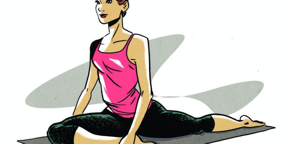 Yoga dig i cykelform med 3 enkla övningar