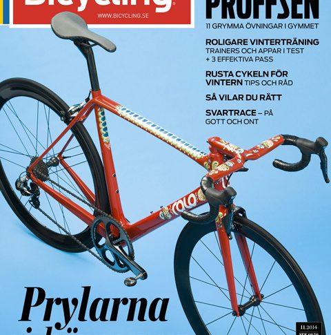 Ta en tjuvtitt på Bicycling nummer 11 2014