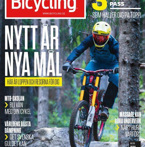 Nytt år, ny form – här är en tjuvtitt på nya snyggare Bicycling!