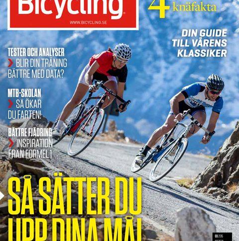 Ta en tjuvtitt på Bicycling nummer 3 2015