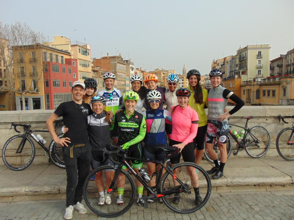 Fredags rundan blev med denna glada grupp med damer <3