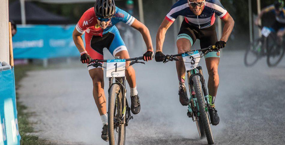 Burman och Holmegård plockade hem SM-sprinten