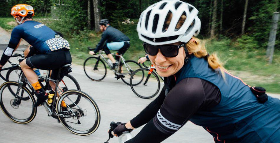 """Dåligt väder och okända stigar – Katja """"Cykelkatten"""" Fedorovas drömhelg"""