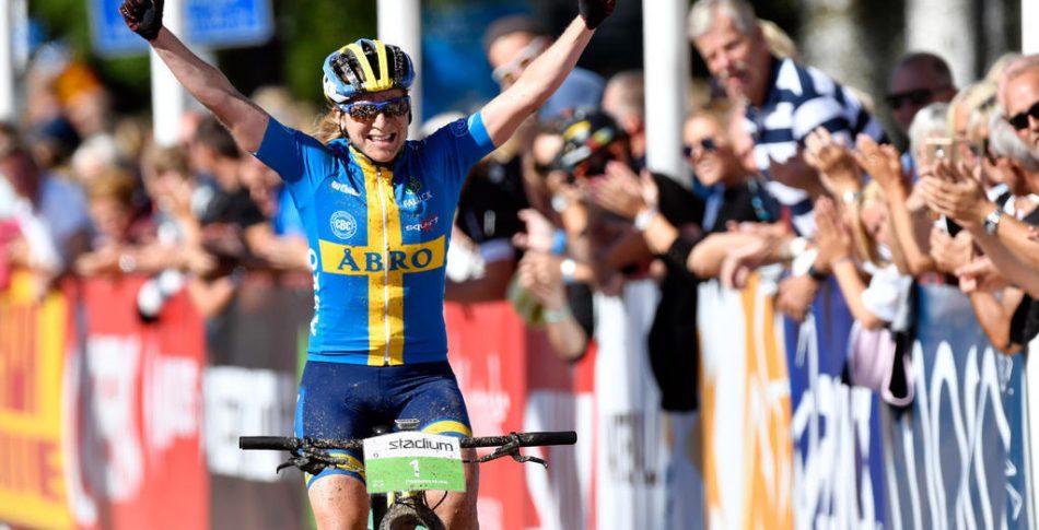 Årets Postcyklist 2017: Jennie Stenerhag och Felix Beckeman