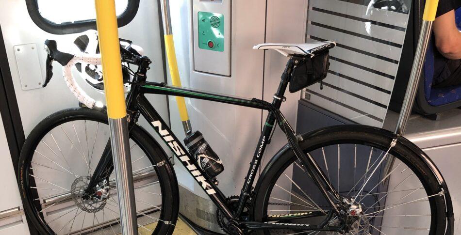Cykel på pendeltåget – i rusningstrafik