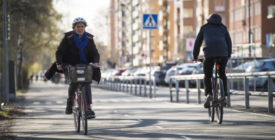 En anständig cykelbana