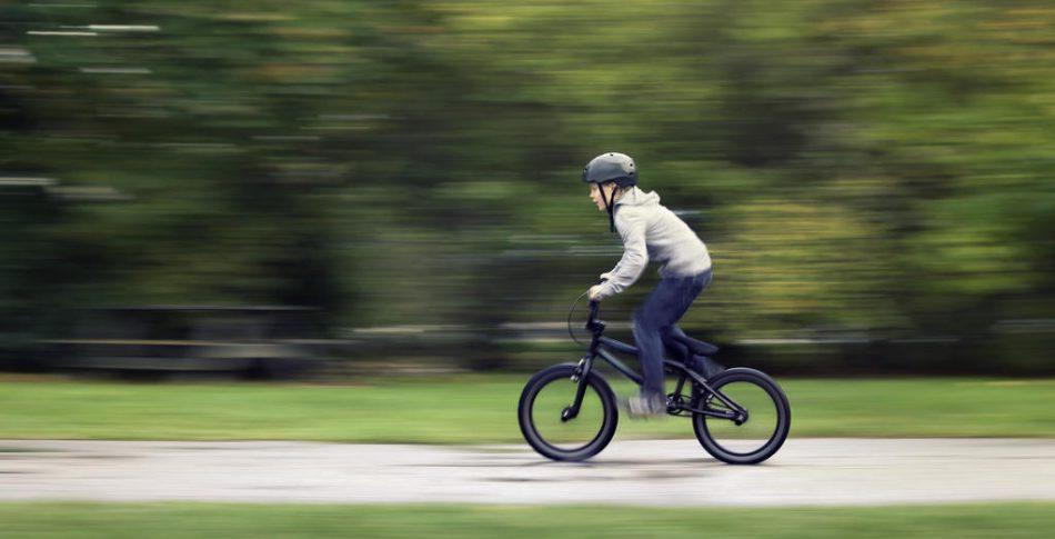 Ren och skär cykelglädje