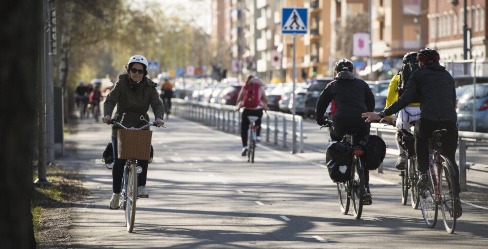 Att planera och utforma en cykelbana