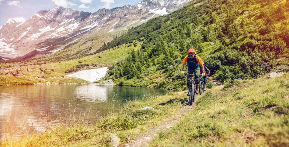 Valais – Ett  storslaget cykelparadis