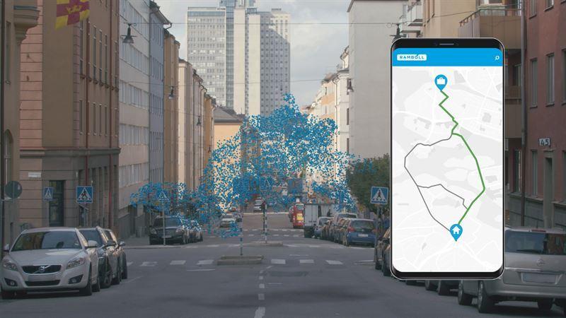 Ny tjänst hjälper dig hitta renaste cykelvägen till jobbet