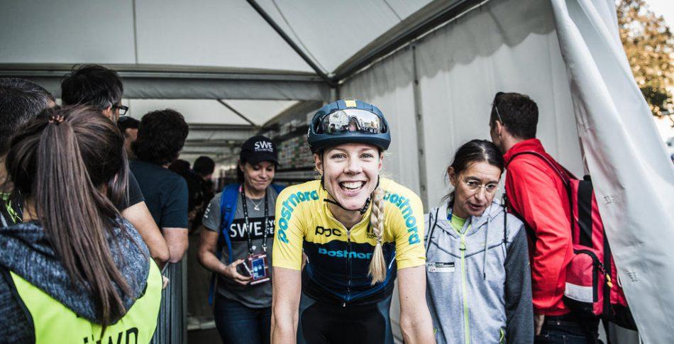 Emilia Fahlin har cyklat hem dubbla OS-starter