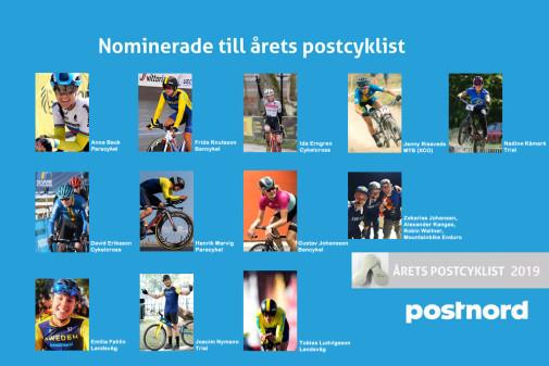 Rösta fram årets Postcyklist 2019!