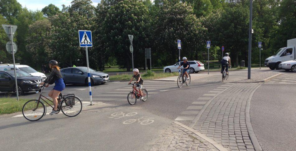 Cykla med barn
