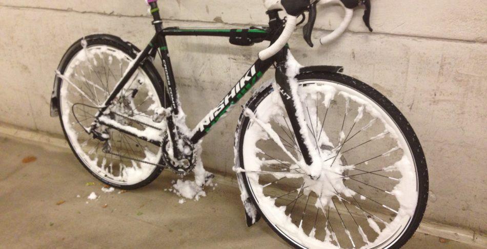 """""""Sopsaltning förstör cykeln"""""""
