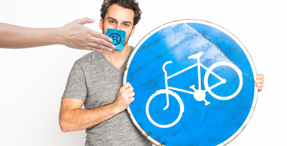 Riv upp alla cykelbanor!