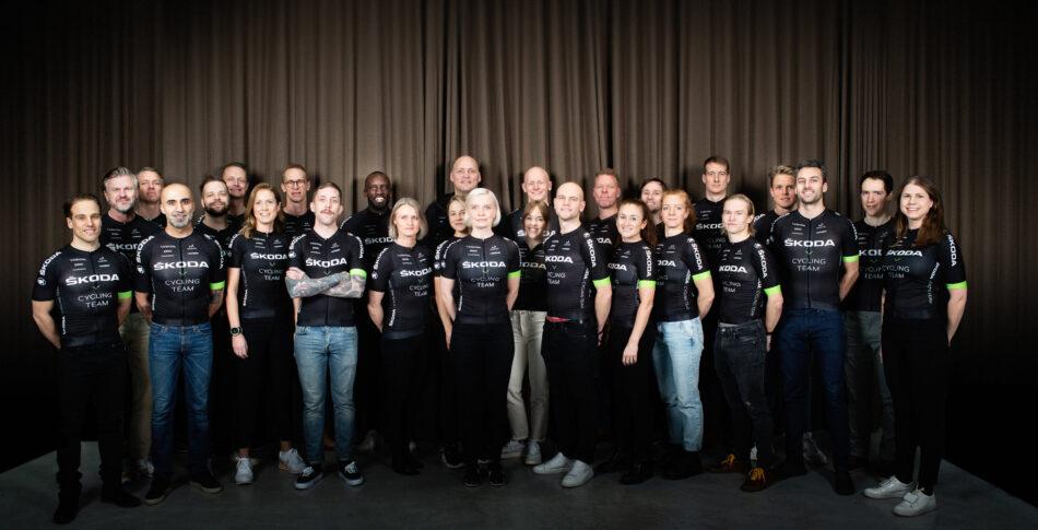 ŠKODA Cycling Team cyklar #minvätternrundan över hela Sverige