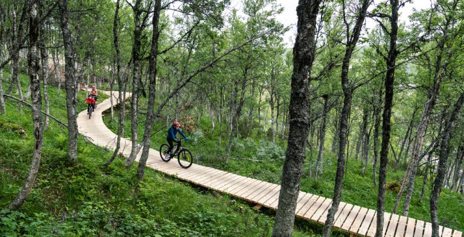 Tänndalen, Ramundberget och Funäsdalen skapar Sveriges största cykelarena