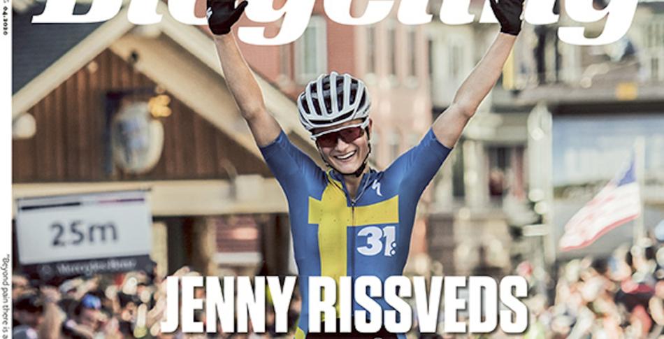 Stor intervju med Jenny Rissveds i senaste numret av Bicycling