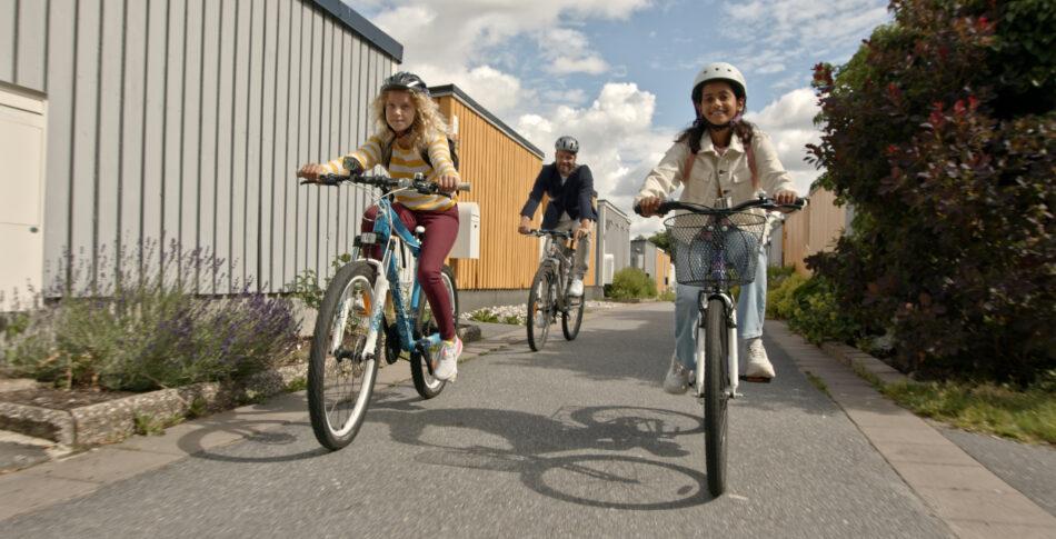 Låt barnen cykla