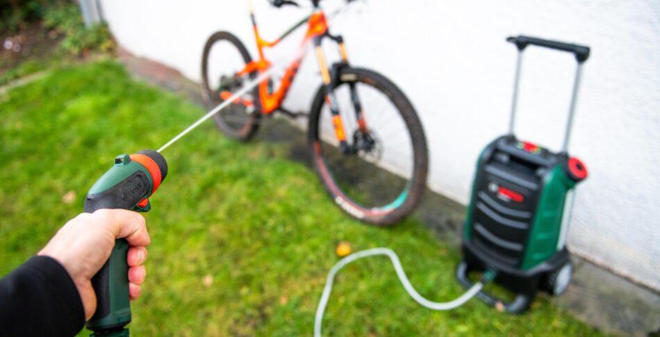Minitest: Bosch Fontus cykeltvätt