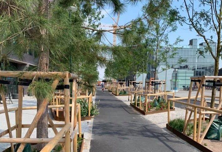 Malmö bygger för småväxta cyklister