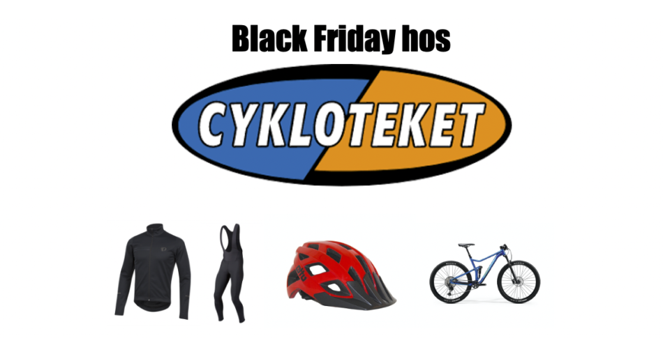 Bästa Black Friday dealsen hos Cykloteket