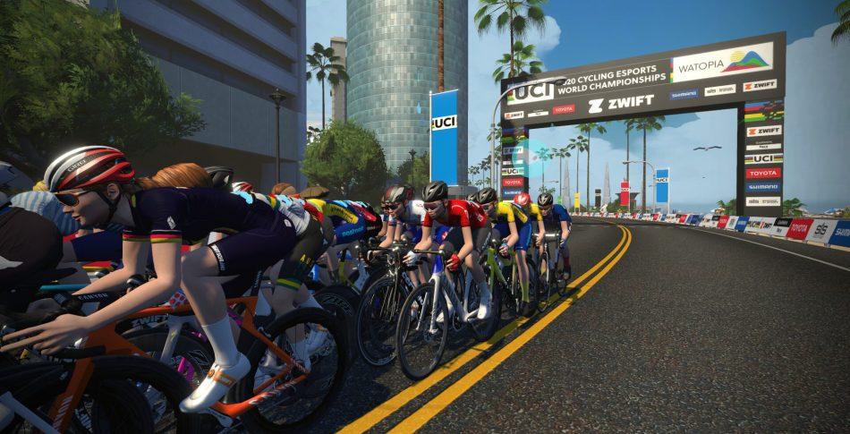 VM-brons i E-cykling på Zwift till Cecilia Hansen