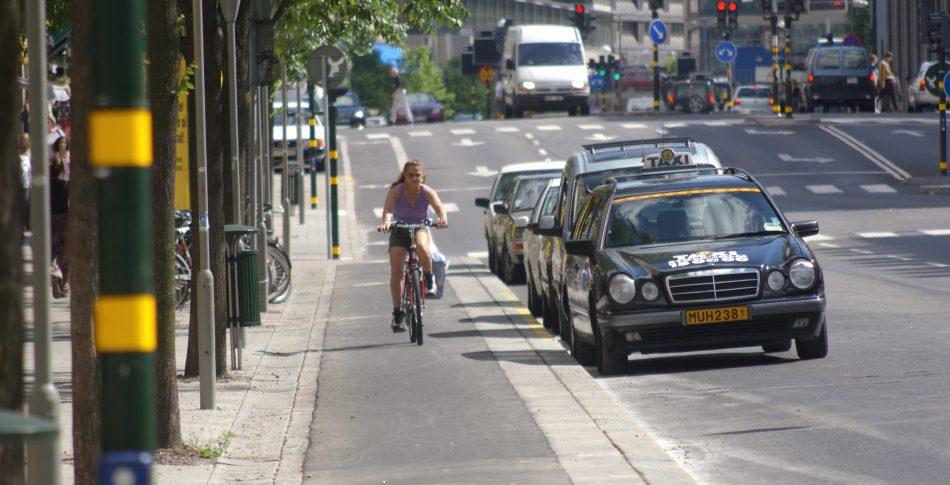 Cykeltrafik – inte på huvudgatorna
