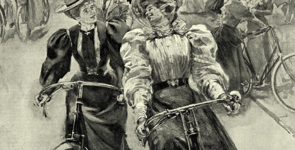 När cyklande kvinnor var en provokation