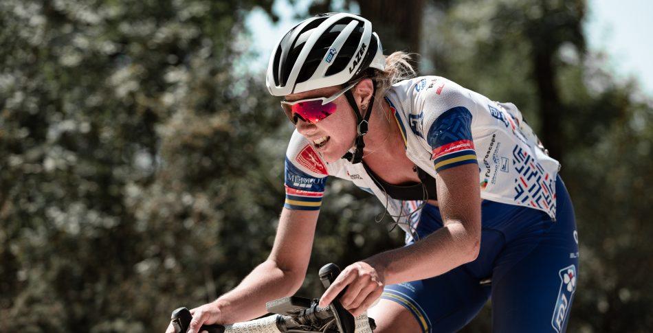 Emilia Fahlin spurtade till sig en OS-plats