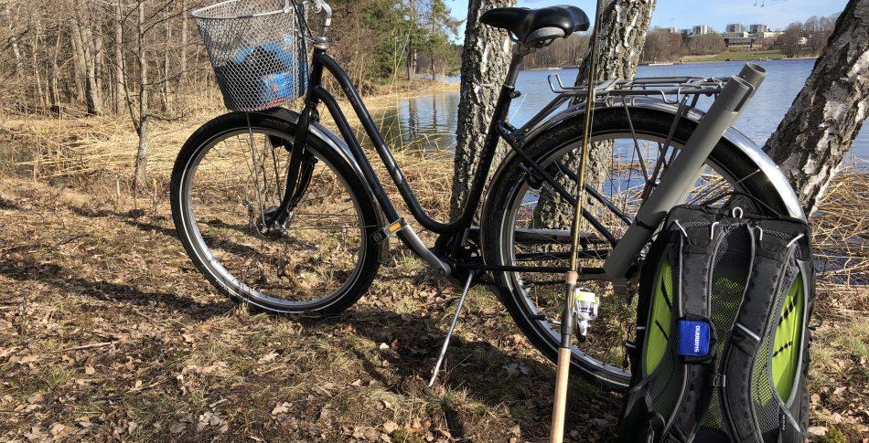 Cykla och fiska