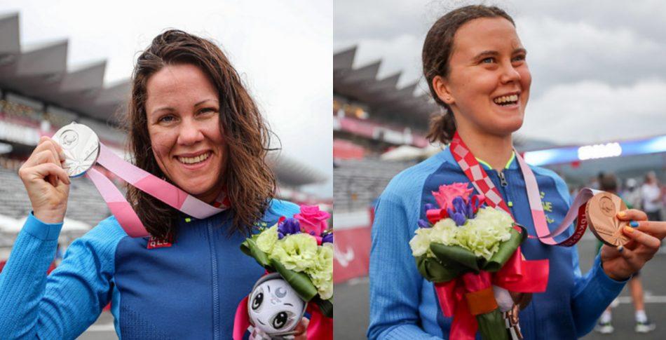 Sverige tog dubbla medaljer vid Paralympics i Tokyo!